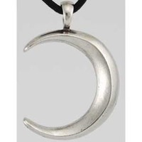 Waxing Moon Amulet Necklace from Lunar Gypsy