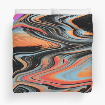 'the mind melt' Duvet Cover by DuckyB