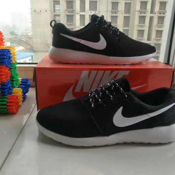 """NIKE"" Fashion Casual Olympic London Breathable Fly Weave Unisex Sneakers Couple Running Shoes"