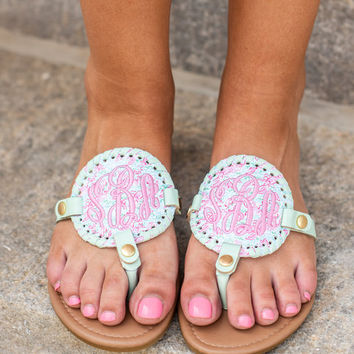 Mix And Always Match Sandals, Mint Lobster