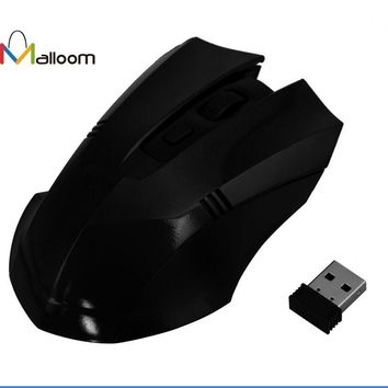 Black 2.4GHz Wireless Optical Mouse Gaming Mouse