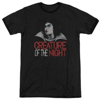 Rocky Horror Picture Show - Creature Of The Night Adult Ringer