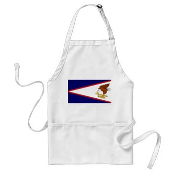 Apron with Flag of American Samoa, U.S.A.