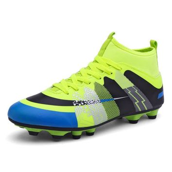 High Ankle Soccer Shoes Fly Man Football Shoes Kids Boys New Superfly Soccer Cleats Boots Football Trainers