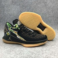 Nike Jordan Trending Men Personality Camouflage Sport Running High Help Basketball Shoes Sneakers I-BAXY