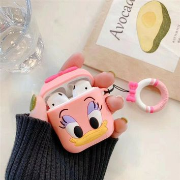 Daisy Duck Disney Apple Airpods Case FREE SHIPPING