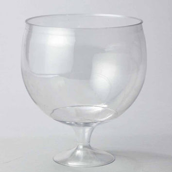 Plastic Jumbo Drinking Glass Disposable Cup, Clear, 9-Inch …