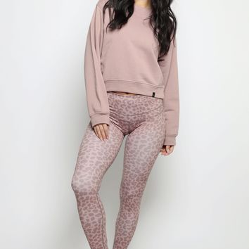 Biona Tight - Blush Leopard