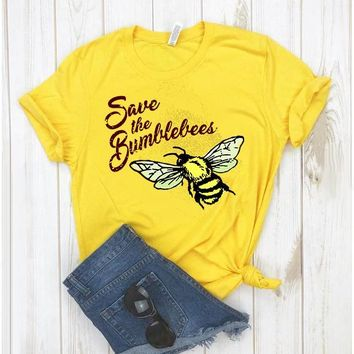 Save the Bumblebees Short-Sleeve T-Shirt