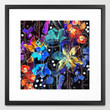 Lost in Botanica II Framed Art Print by Holly Sharpe | Society6