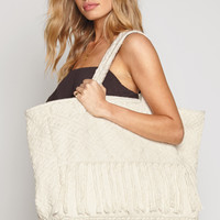 AMUSE SOCIETY - Desert Dreams Weekender Tote | Natural