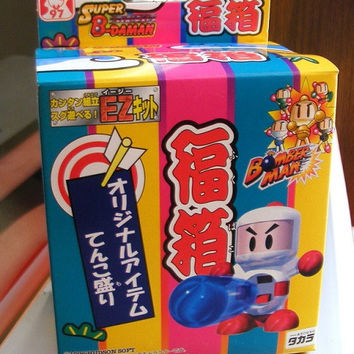 Takara 1996 Hudson Soft B-Daman Bomberman Fuku Box Model Kit Action Figure