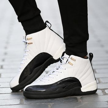 Basketball Shoes Sneakers High Top Trainers Athletic Sports Running Outdoors