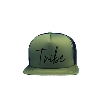 Tribe Trucker Hat (bridal font)