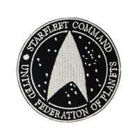 Star Trek The Movie Logo II Embroidered Iron Patches