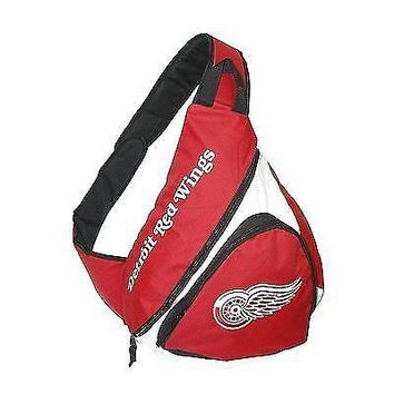NHL Detroit Red Wings Slingback Backpack, Red