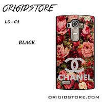 Floral Chanel 2 For LG G4 Case YG