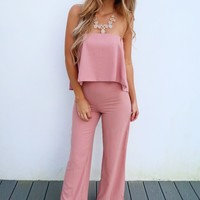 Far Away Jumper: Dusty Rose