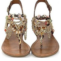 New Fashion Diamond bohemian Sandals Shoes from styleonline