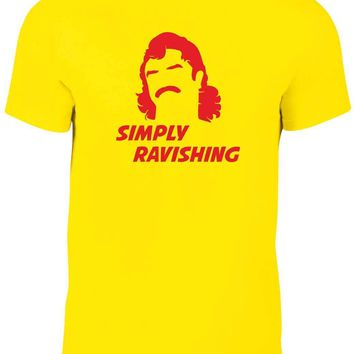 Simply Ravishing t shirt - Funny t-shirt wrestling rick rude comic cool wwe