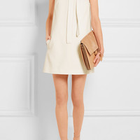 Chloé - Textured-crepe mini dress