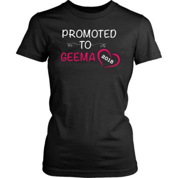 """Promoted"" Geema New Grandma T-Shirt"