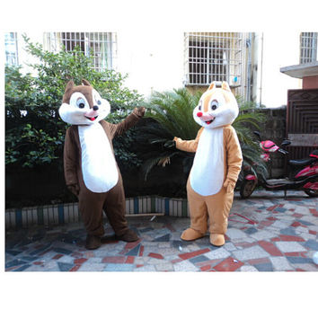 Squirrel Animal Mascot Costumes,Cosplay Costumes,Costumes for Adults,Halloween Costumes,Christmas Costumes,Birthday Costumes