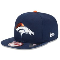 New Era Denver Broncos 2015 Draft Collection 9FIFTY Original Fit Snapback Cap - Adult, Size: One Size (Orange)