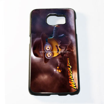 Funny Minion Jones Samsung Galaxy S6 and S6 Edge Case