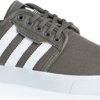 adidas Seeley Skate Shoes - Mid Cinder/White