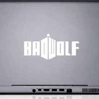 """Bad Wolf Doctor Who iPad Car Notebook Decal Sticker 5"""""""