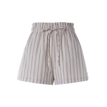 Casual Striped Short