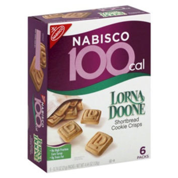 Lorna Doone Shortbread 100 Calorie Snack Portions - Pack of 24