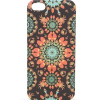 With Love From CA Sunburst Medallion iPhone 5/5S Case - Womens Scarves - Black - One