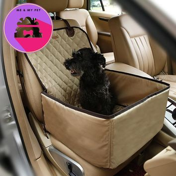 Doglemi 900D Nylon Waterproof  Dog Bag Pet Car carrier Dog Car Booster Seat Cover Carrying Bags for Small Dogs Outdoor Travel
