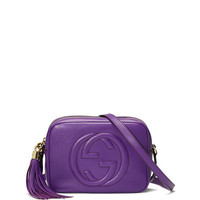 Soho Small Camera Crossbody Bag, Purple