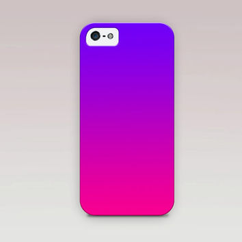 Ombre  Phone Case For - iPhone 6 Case - iPhone 5 Case - iPhone 4 Case - Samsung S4 Case