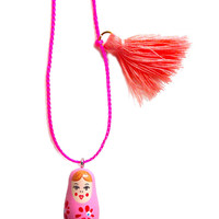Little Lux | Little Trudy The Stacking Doll Necklace
