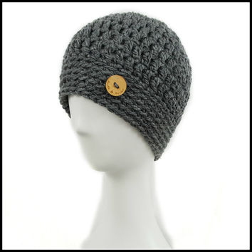 Chunky Charcoal Hat