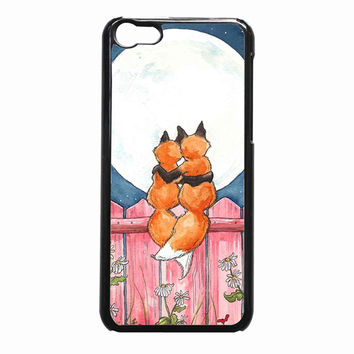 fox loving cd3d57da-4d6f-4256-a593-6db136756a28 FOR iPhone 5C CASE *NP*