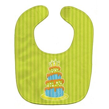 Nautical Bithday Cake Baby Bib BB8916BIB