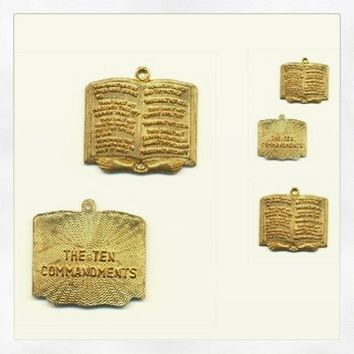 Ten Commandments-Biblical Necklace from Nicole Ray