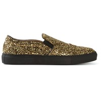 L'Autre Chose glitter embellished sneakers