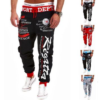 Men Hiphop Sweatpants Jogger Dance Sportwear Baggy Harem Slacks Trousers Pants  Hip Hop high street Trousers Pants Sweatpants