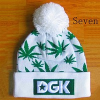 Perfect Huf And Dgk Hiphop Women Men Beanies Winter Knit Hat Cap