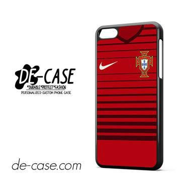 Portugal Soccer Jersey For Iphone 5C Case Phone Case Gift Present YO