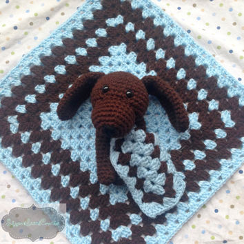 Crochet Puppy Lovey