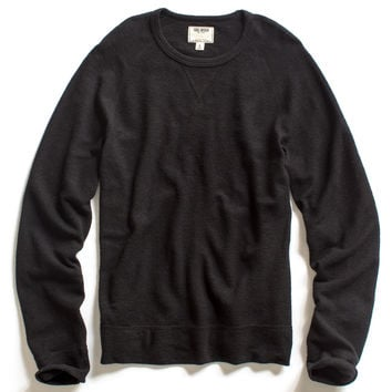 Wool Rib Sweatshirt