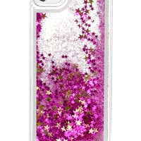 GLITTER WATERFALL IPHONE CASE