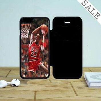 DCKL9 Air Jordan Basketball iPhone 5 Flip Case